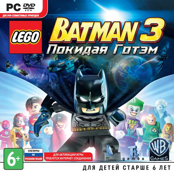 Видеоигра для PC . LEGO Batman 3 batman 66 volume 3
