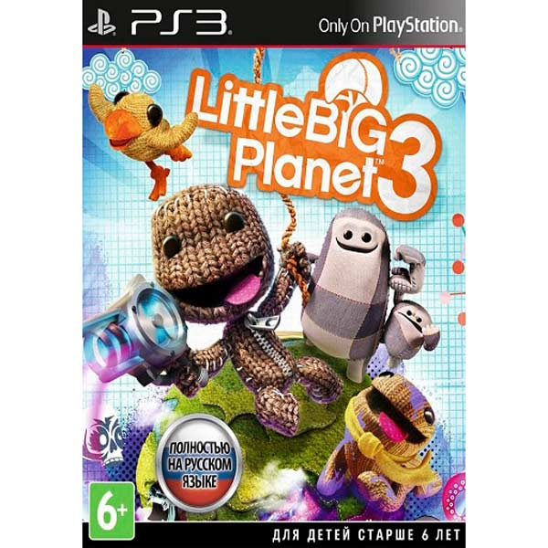 Игра для PS3 . LittleBigPlanet 3 new original 8 inch tablet lcd screen fy08021d127a19 1 fpc1 a free shipping