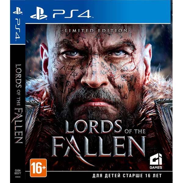 Видеоигра для PS4 . Lords of the Fallen fallen fallen glory hood black