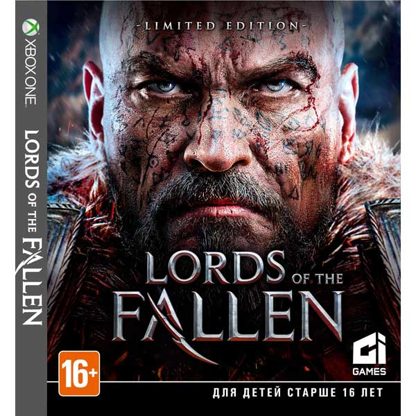 Видеоигра для Xbox One . Lords of the Fallen fallen fallen glory hood black