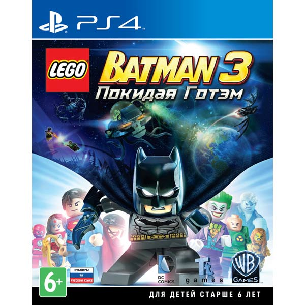Видеоигра для PS4 . LEGO Batman 3 batman 66 volume 4