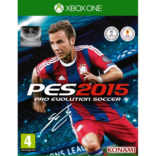 Видеоигра для Xbox One . Pro Evolution Soccer 2015