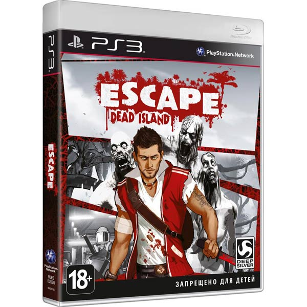Игра для PS3 . Escape Dead Island игра для ps3 house of the dead overkill extended cut