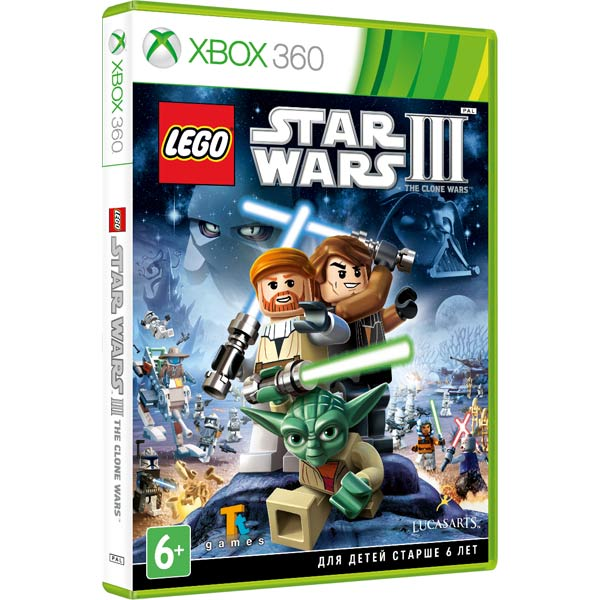 купить Игра для Xbox . LEGO Star Wars III: the Clone Wars Classics дешево