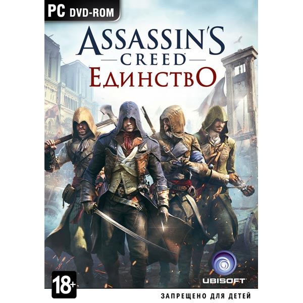 Видеоигра для PC . Assassin's Creed: Единство видеоигра для xbox one медиа assassin s creed единство notre dame edition