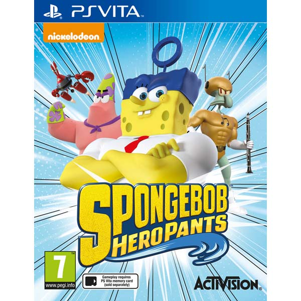 Игра для портативной консоли . SpongeBob Heropants