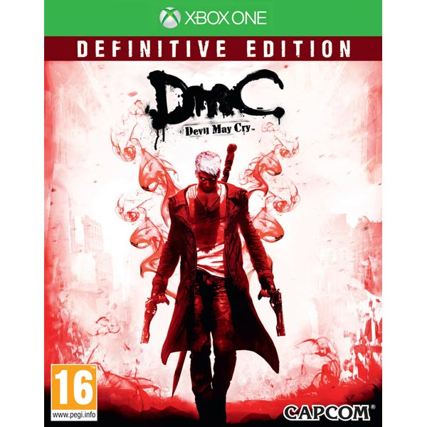 Видеоигра для Xbox One . DmC Devil May Cry игра бука sleeping dogs definitive edition xbox one