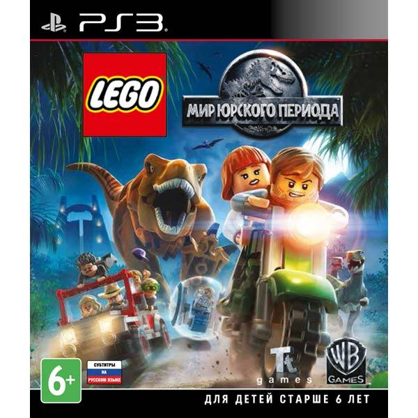 Видеоигра для PS3 . LEGO Мир Юрского Периода