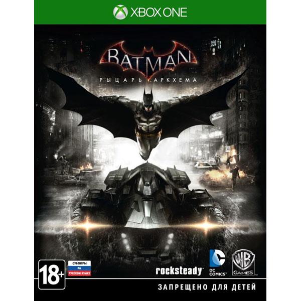 Видеоигра для Xbox One . Batman:Рыцарь Аркхема warner bros interactive entertainment batman летопись аркхема arkham origins deathstrocke dlc knighfall pack