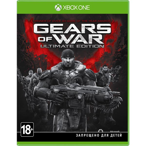 Видеоигра для Xbox One Microsoft Gears of War Ultimate Edition электронная версия для xbox microsoft fifa 18 ronaldo edition