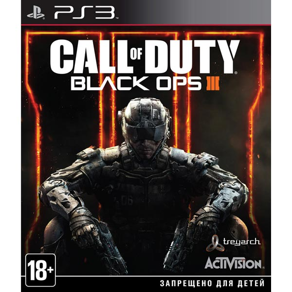 Игра для PS3 . Call of Duty:Black Ops III call of duty modern warfare 3 content collection 2 цифровая версия