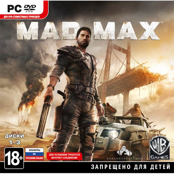 Видеоигра для PC . Mad Max чехол для iphone 6 глянцевый printio only the mad survive mad max