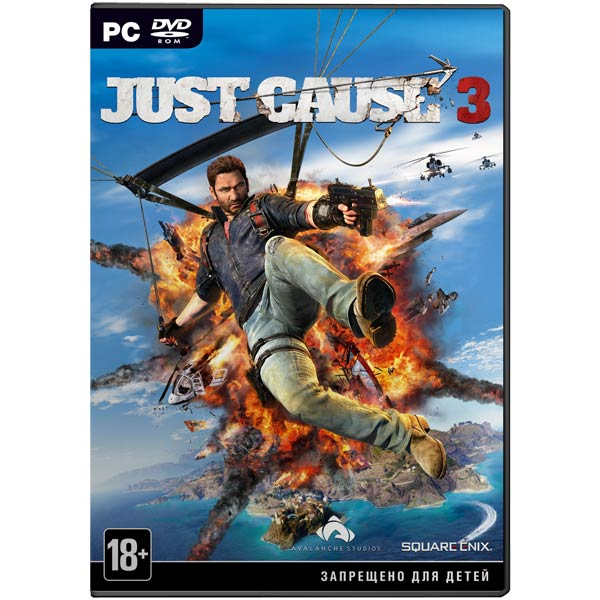 Видеоигра для PC . Just Cause 3 Limited Edition