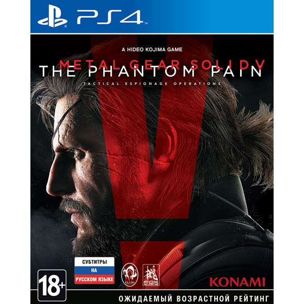 Видеоигра для PS4 . Metal Gear Solid V: The Phantom Pain цена