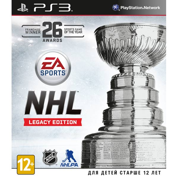 Игра для ps3 ., NHL Legacy