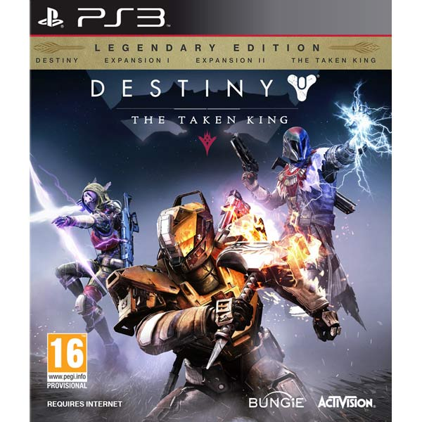все цены на Игра для PS3 . Destiny: The Taken King онлайн