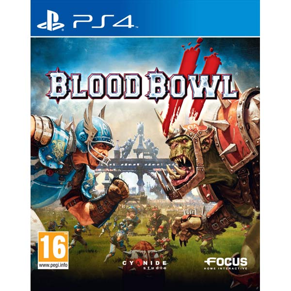 Видеоигра для PS4 . Blood Bowl 2