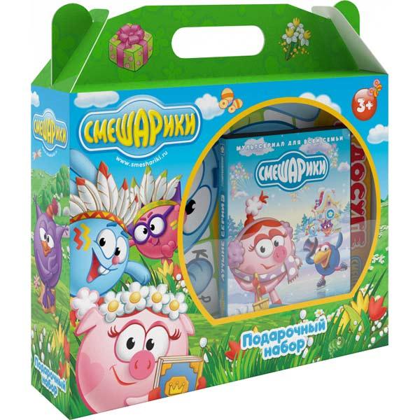DVD-диск . Подарочный набор Смешарики смешарики подарочный набор 3 dvd сувениры