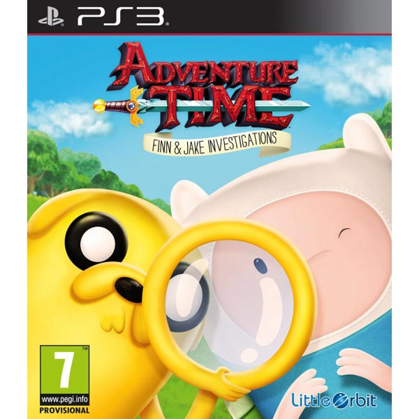 Игра для PS3 . Adventure Time: Finn and Jake Investigations