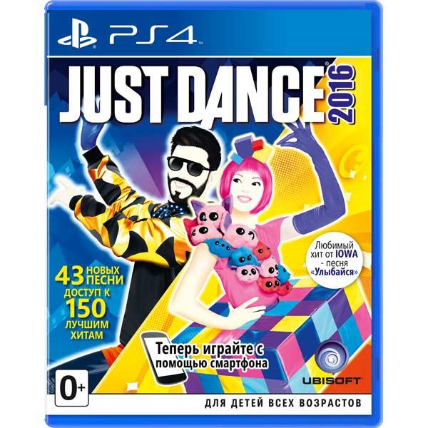 Видеоигра для PS4 . Just Dance 2016
