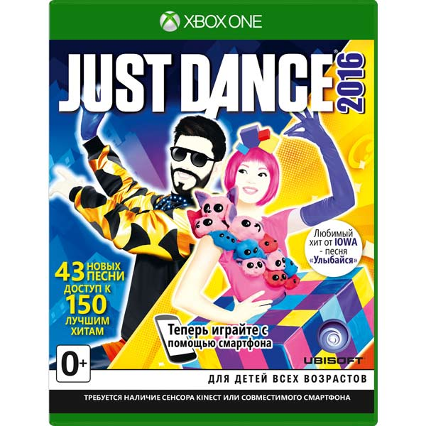Видеоигра для Xbox One . Just Dance 2016 ubisoft rabbids invasion xbox one английский