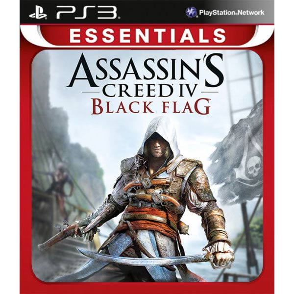 PS3 игра . Assassin\'s Creed IV Черный флаг Essentials