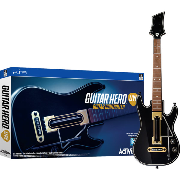 Аксессуар для игровой приставки PS3 Медиа Guitar Hero Live.Гитара for mitsubishi lancer 10 9 x asx outlander 3 pajero l200 carisma colt grandis galant ralliart car headrest neck safety pillows