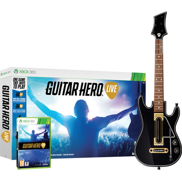 Игра для Xbox . Guitar Hero Live guitar hero world tour купить pc