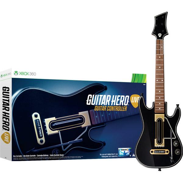 Аксессуар для игровой приставки Xbox 360 Медиа Guitar Hero Live.Гитара контроллер для guitar hero на пк