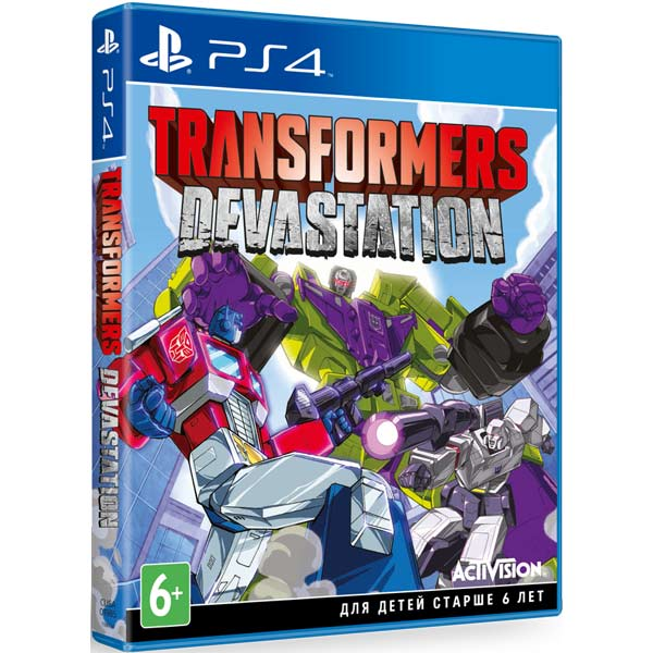 Видеоигра для PS4 . Transformers:Devastation