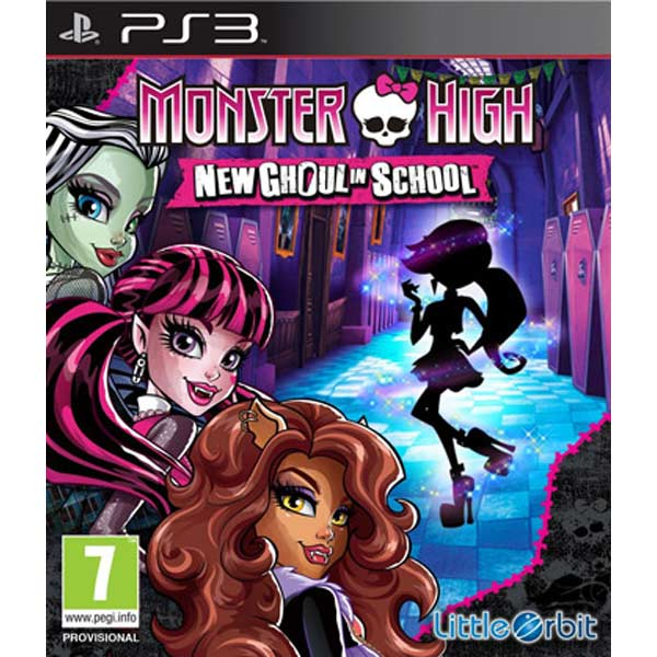 Игра для PS3 Медиа Monster High:New Ghoul in School monster high 100 наклеек