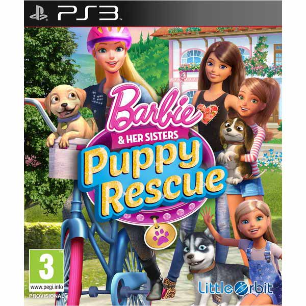 Игра для PS3 Медиа Barbie and Her Sisters: Puppy Rescue plaid long sleeve belted midi dress