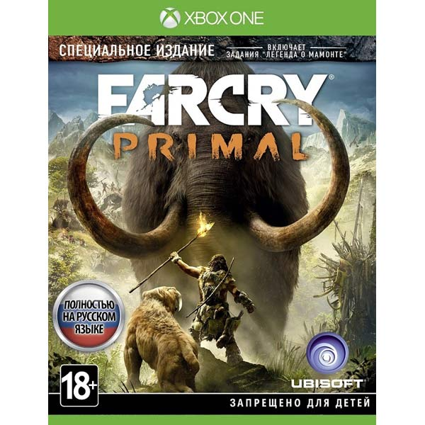 Видеоигра для Xbox One . Far Cry Primal игра для xbox far cry 3 far cry 4