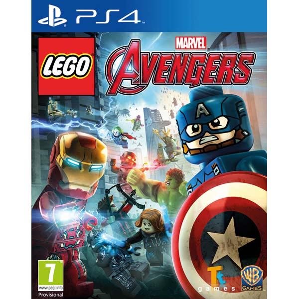 Видеоигра для PS4 . LEGO: Marvel Мстители