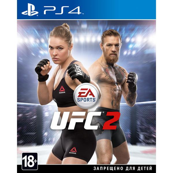 Видеоигра для PS4 . EA Sports UFC 2 видеоигра для ps4 just dance 2018