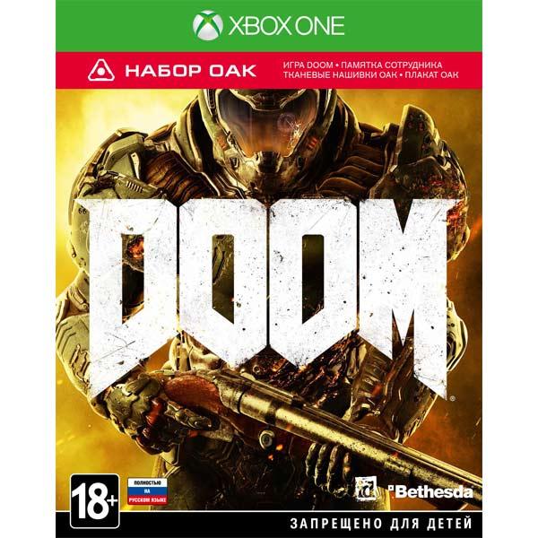 Видеоигра для Xbox One . DOOM xbox