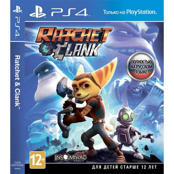 Видеоигра для PS4 . Ratchet & Clank видеоигра для ps4 ratchet