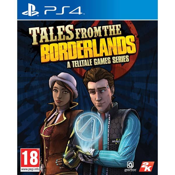 Видеоигра для PS4 . Tales from the Borderlands tales