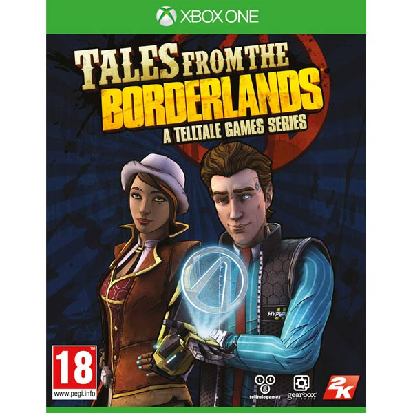 Видеоигра для Xbox One . Tales From The Borderlands canterbury tales nce