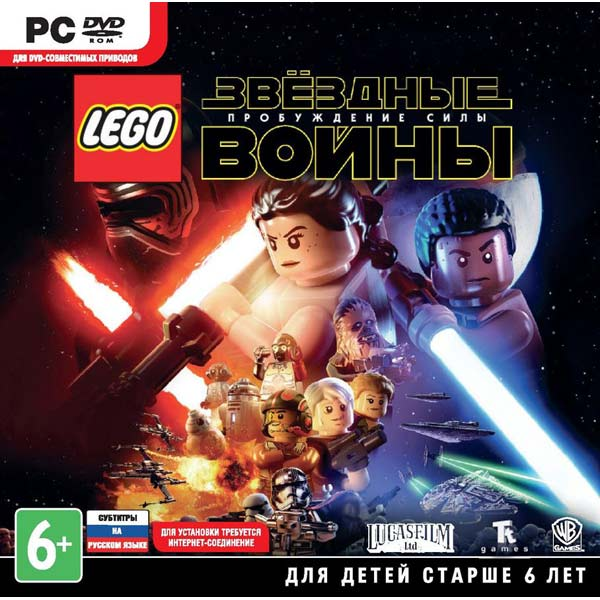 Видеоигра для PC . LEGO Звездные войны:Пробуждение Силы видеоигра для pc football manager 2016