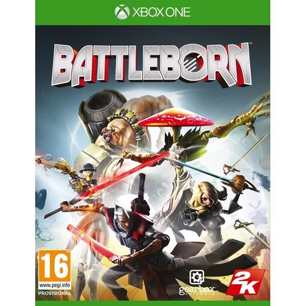 Видеоигра для Xbox One Медиа Battleborn видеоигра для xbox one overwatch origins edition