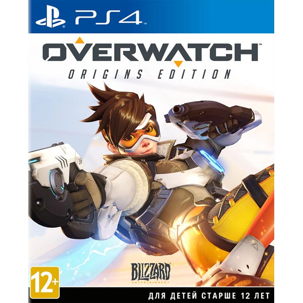 Видеоигра для PS4 . Overwatch: Origins Edition