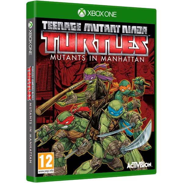 Видеоигра для Xbox One . Teenage Mutant Ninja Turtles Mutants in Manhattan