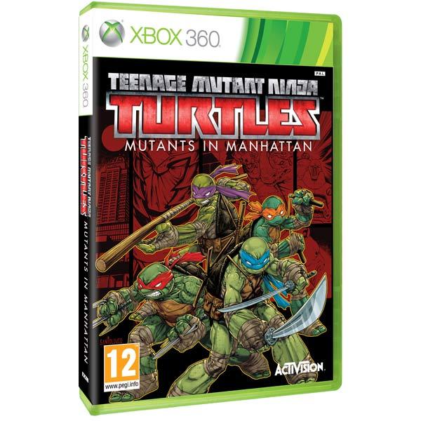 Игра для Xbox . Teenage Mutant Ninja Turtles Mutants in Manhattan джинсовые мужские шорты fallen winslow short indigo rinse