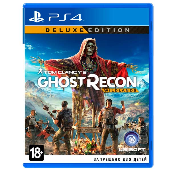Видеоигра для PS4 . Tom Clancy's Ghost Recon Wildlands Deluxe Edition 100% original bandai tamashii nations s h figuarts shf exclusive action figure garo leon kokuin ver from garo