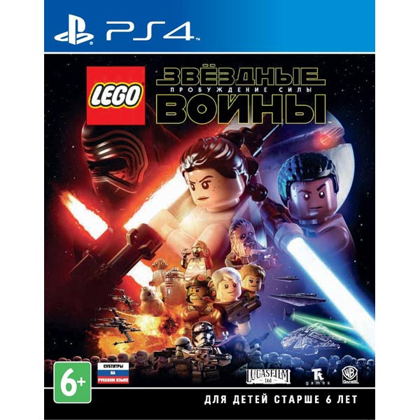 Видеоигра для PS4 . LEGO Звездные войны:Пробуждение Силы