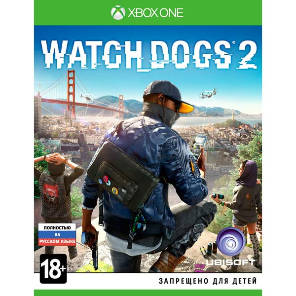 Видеоигра для Xbox One . Watch Dogs 2 игра бука sleeping dogs definitive edition xbox one