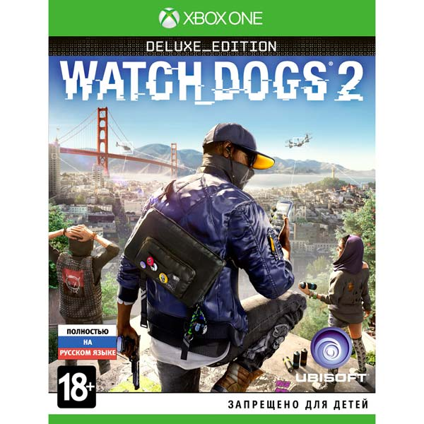 Видеоигра для Xbox One . Watch Dogs 2 Deluxe Edition игра бука sleeping dogs definitive edition xbox one