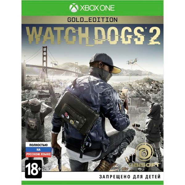 Видеоигра для Xbox One . Watch Dogs 2 Gold Edition игра бука sleeping dogs definitive edition xbox one