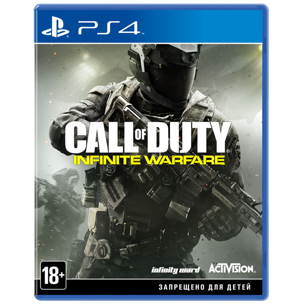 Видеоигра для PS4 . Call of Duty: Infinite Warfare